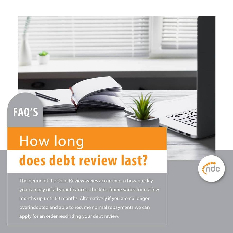 How Long Does Debt Review Last