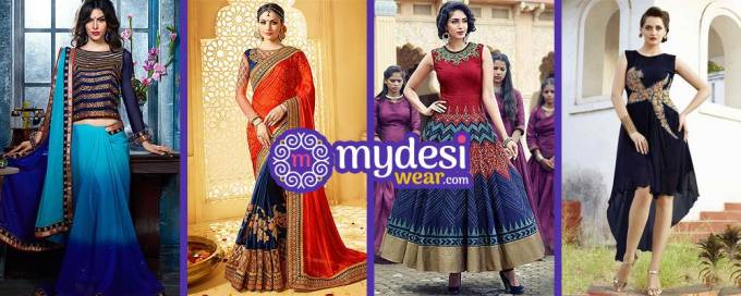 Creativity of fashion & new invention- Indian ethnic look with western touch