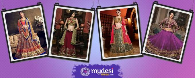 Lehenga choli for this Diwali festival-make gorgeous look
