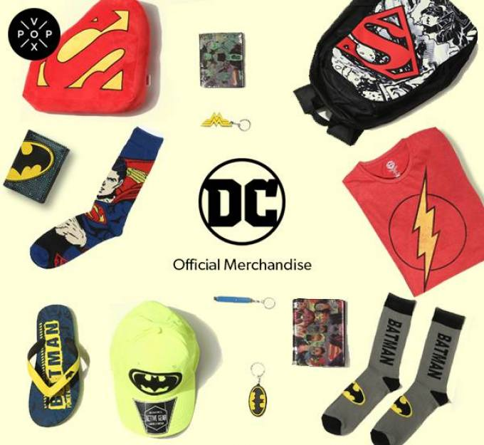 Here's how you shop for officially licensed DC and Marvel merchandise