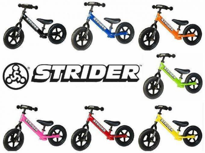 Strider Balance Bikes ideal to teach Kids to Balance