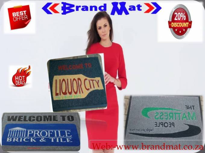 Customized Floor Mats with Logos Are On High Demand