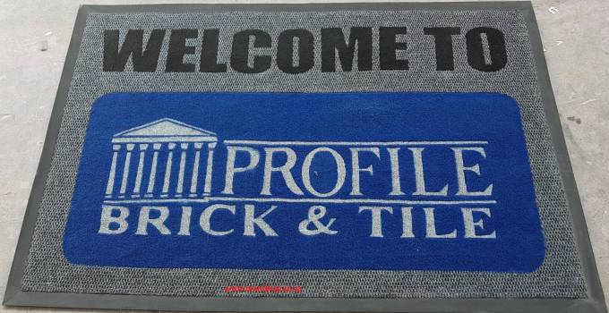 Customized Entrance Mats with Logo and Walk off Mats for Sale
