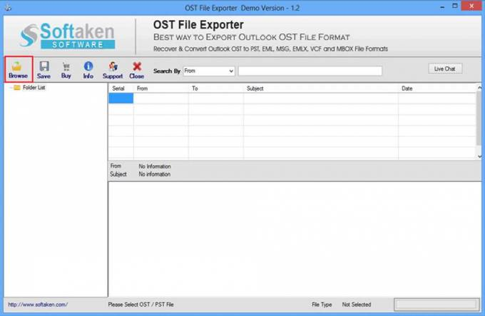 How to recover ost file with Ost Recovery Software