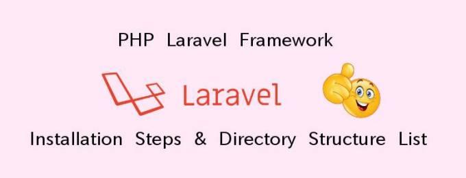 #PHP #Laravel Framework - #Installation Steps & Directory #Structure List