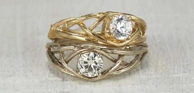 Considering Natural Uncut Diamond Engagement Rings