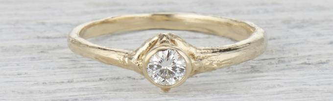 Moissanite Rose Gold Engagement Rings: A Rising Contender