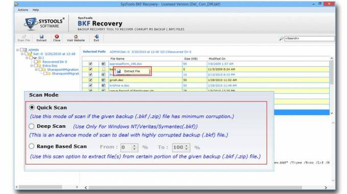 How to Perform BKF Recovery When CRC Error Approaches