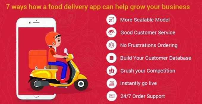 How to find  7 ways how Food Delivery App can help grow your restaurant business