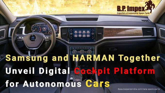 Samsung and HARMAN Together Unveil Digital Cockpit Platform for Autonomous Cars
