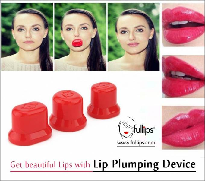 Get beautiful Lips with Lip Plumping Device