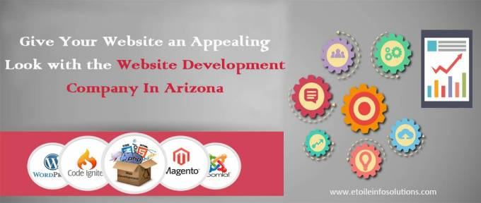 Give your website an appealing look with the Website Development Company In Arizona