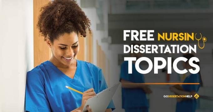 What is Nursing Dissertation?