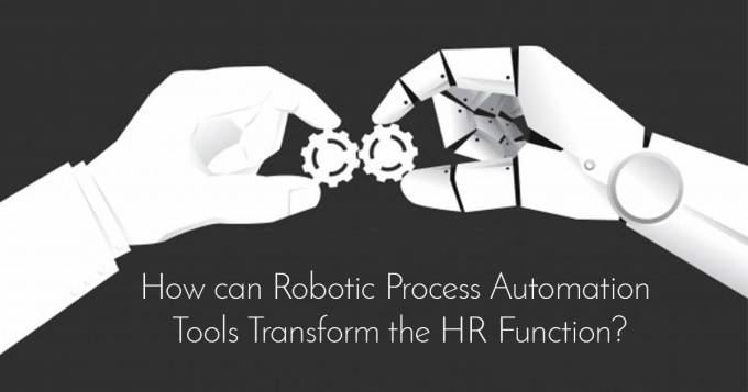 How can Robotic Process Automation Tools Transform the HR Function?