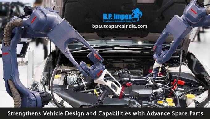 Strengthens Vehicle Design and Capabilities with Advance Spare Parts