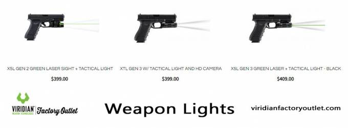 Tactical Weapon Lights Guide