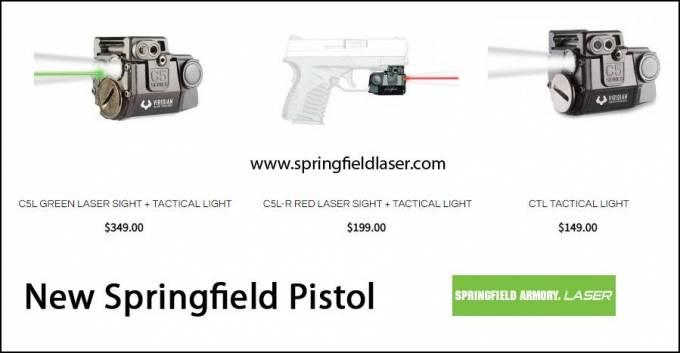 New Springfield Pistol