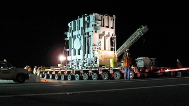 Heavy Transformer Turbines Transportation