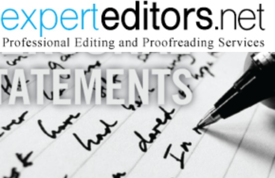 Personal statement editing service